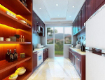 Refined European style kitchen