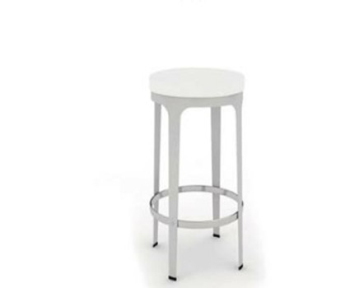 Pure white chair 3d model