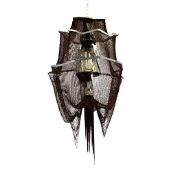 Black classical chandelier model