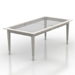 Transparent table tennis table model