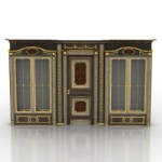 European luxury door decoration model