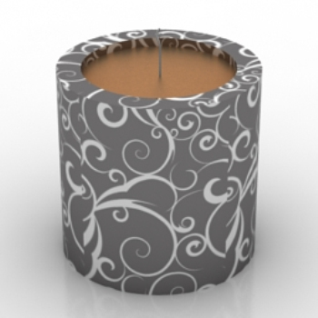 Candlelight Dinner Candles model