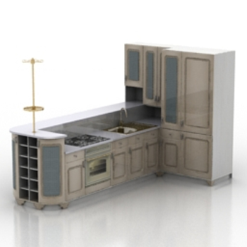 Kitchen Furniture Model
