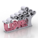 sculpture-LOVE