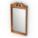 European classical vanity mirror