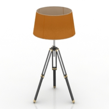 with tripod floor lamp