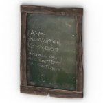 blackboard 3d models