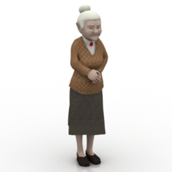 Foreign granny model
