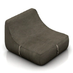 simple single sofa chair model