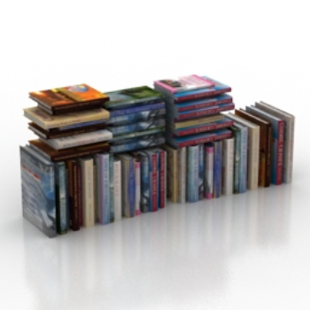 pile of books models