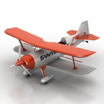 3d small aircraft models