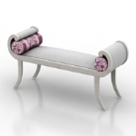 simple and elegant purple benches models
