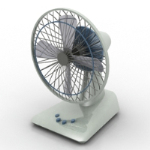 3d desktop fan models