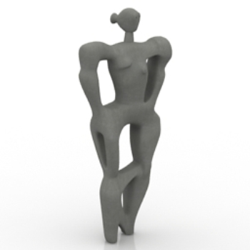 abstract character models