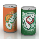 3D models beverage cans
