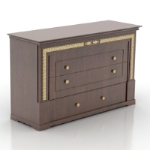 solid wood drawer model