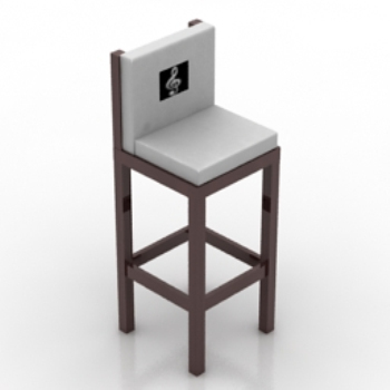 wooden high chair model