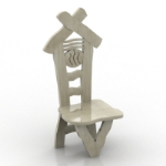 creative small chair model