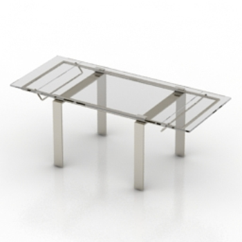 transparent coffee table model