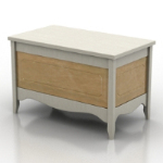 modern wood coffee table model