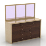 cabinet with mirror model
