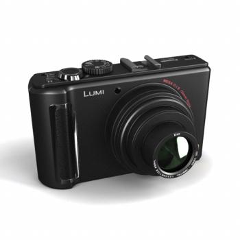 Black camera in 3D