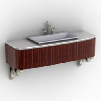 Chinese retro washbasin model