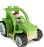3d model toy tractor