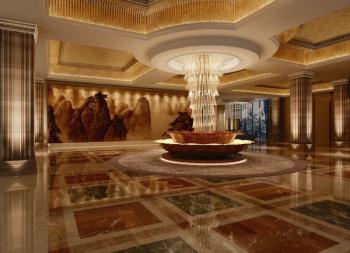 Magnificent hall 3d models