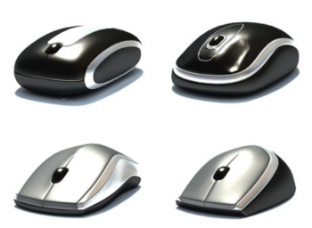 Wireless Mouse 3D model