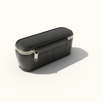 Black rectangular purse 3D model
