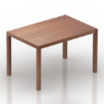 wood texture table model