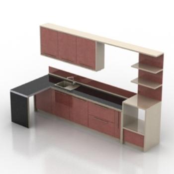 kitchen cabinet model kitchen cabinet model 3d model downloadfree 3d models download  rh   3dmodelfree com