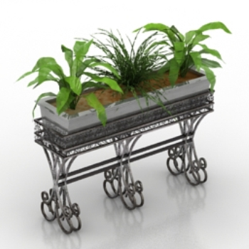 home decoration model potted plant model