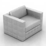 pure white exquisite sofa model