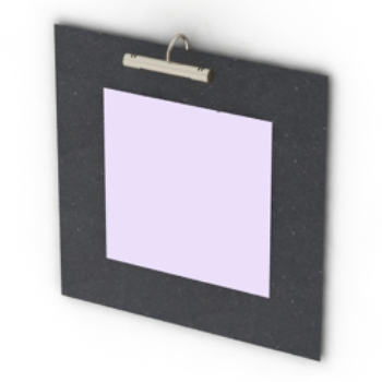 black border photo frame model