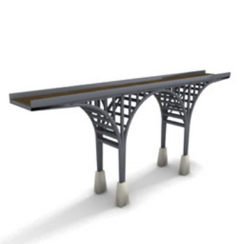 novel actual 3d model bridge