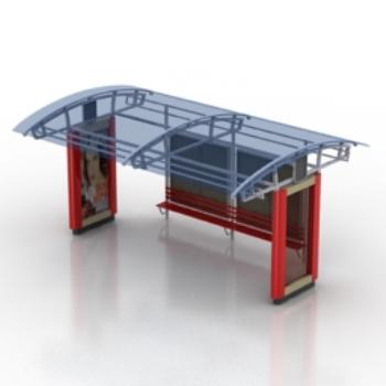 Public pavilion design model