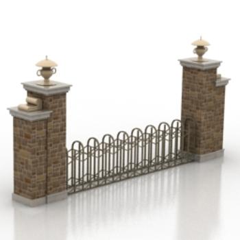 door luxury villa design model 3D Model Download,Free 3D Models Download