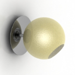 round wall sconce 3D Max models