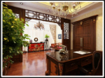 classical Chinese style large living room 3D models