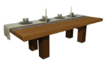 simple wooden table 3d models