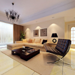 simple and comfortable living room 3D models