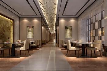 modern, stylish restaurant 3D models