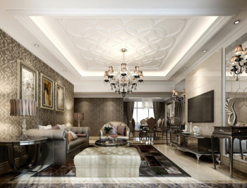 Beautifully Decorated Luxury Living Room 3d Models 3d