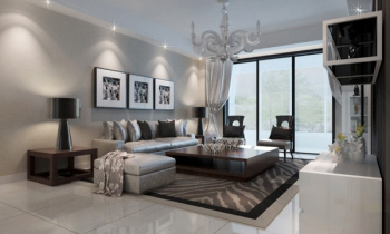 beautiful modern living room 3d model 3D Model Download,Free ...