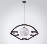 fan Classical chandelier 3D models