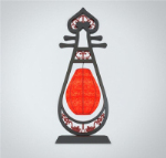 classical lute shape creative lighting 3D models