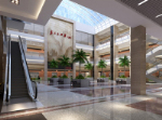 fresh mall hall 3d model