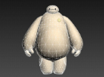 Baymax 3D solid model
